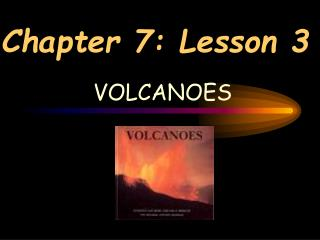 Chapter 7: Lesson 3