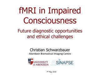 fMRI  in Impaired Consciousness