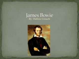 James Bowie