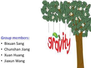 Bixuan  Sang  Chunshan  Jiang Xuan  Huang