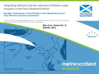Berx et al., Ocean  Sci.,9, 639-654 ,2013