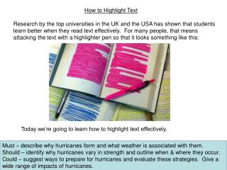How to Highlight Text