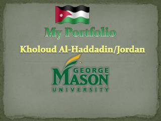 Kholoud  Al- Haddadin /Jordan