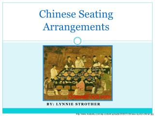Chinese Seating Arrangements