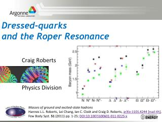 Dressed-quarks  and the Roper Resonance