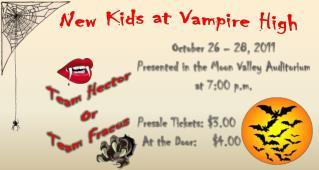 New Kids at Vampire High