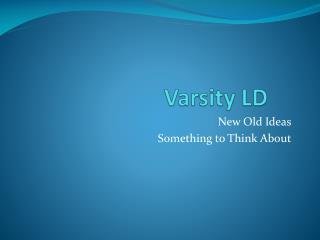 Varsity LD
