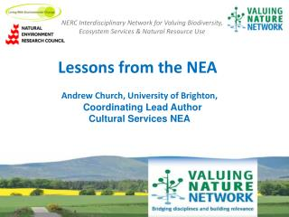 Lessons  from the NEA