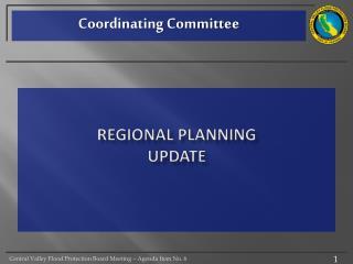 Regional Planning update
