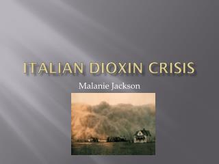 Italian dioxin crisis
