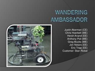 Wandering Ambassador