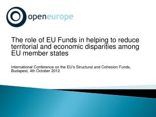 EU Structural and Cohesion Funds in brief