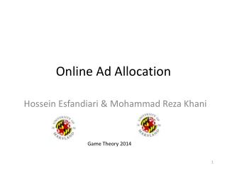 Online Ad Allocation