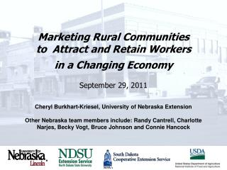 Cheryl Burkhart-Kriesel, University of Nebraska Extension