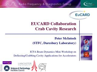EUCARD Collaboration Crab Cavity Research