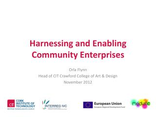 Harnessing and Enabling Community  Enterprises