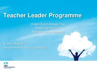 Teacher Leader Programme