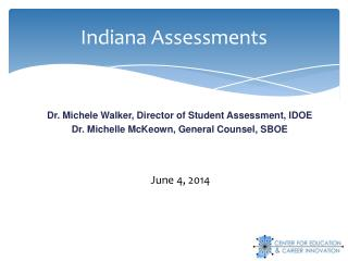 Indiana Assessments