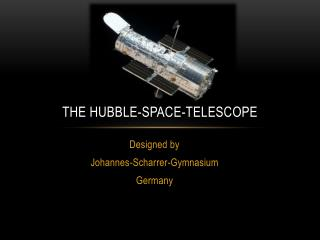The  hubble -space-telescope