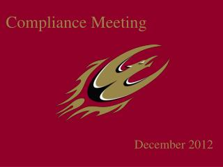 Compliance Meeting