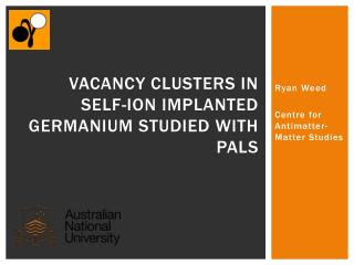 Vacancy clusters in self-ion implanted Germanium studied with PALS