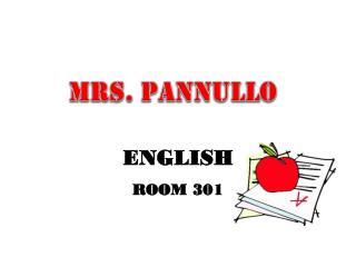 ENGLISH ROOM  301