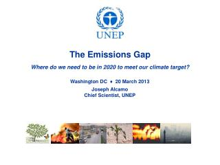 The Emissions Gap Where  do we need to be in 2020 to meet our climate target ?