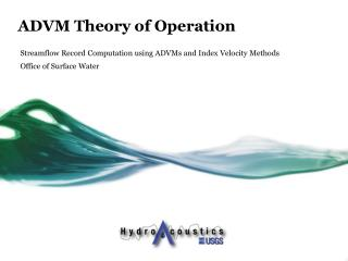 ADVM  Theory of Operation