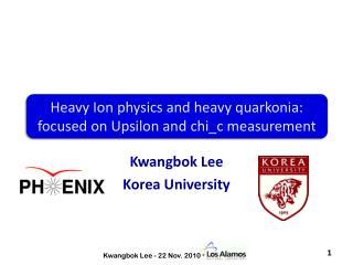 Kwangbok  Lee Korea University