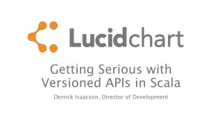 Getting Serious with Versioned APIs in  Scala