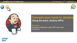 Connect your tools to Jenkins Using the basic Jenkins API's