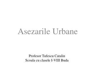 Profesor Tufescu Catalin Scoala cu clasele I-VIII Buda
