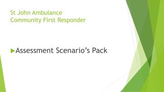 St John Ambulance  Community First Responder