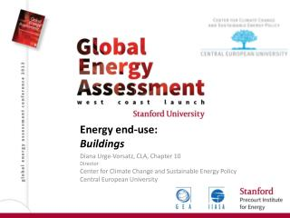 Energy end -use: Buildings