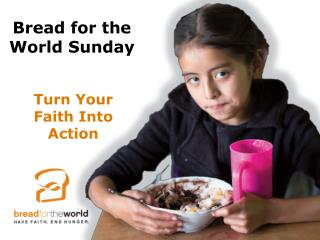 Turn Your  Faith Into Action