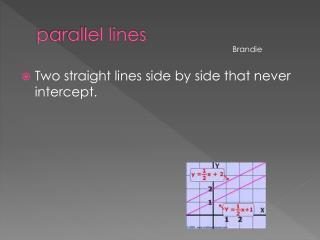 p arallel lines