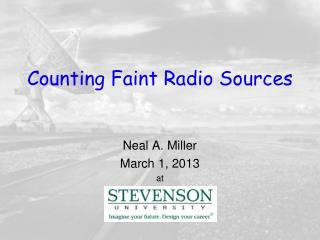Counting Faint Radio Sources