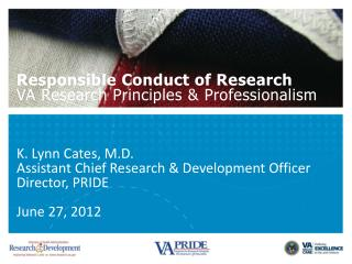 Research Principles & Professionalism