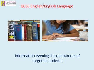 GCSE English/English Language