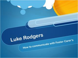 Luke Rodgers