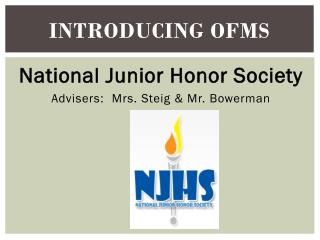 Introducing OFMS