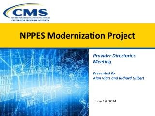 NPPES Modernization Project