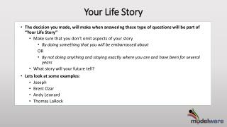 Your Life Story