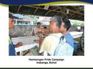 Hambongan Pride Campaign Inabanga, Bohol