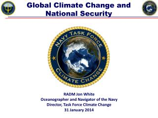 Global Climate Change and National Security