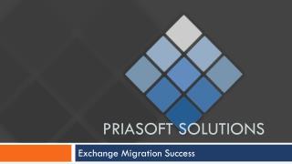 Priasoft Solutions