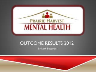 Outcome results 2012