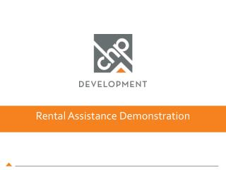 Rental Assistance Demonstration