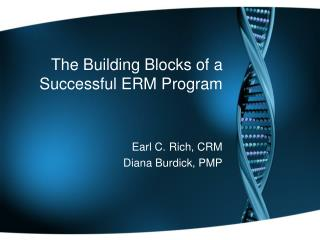 The Building Blocks of a Successful ERM Program