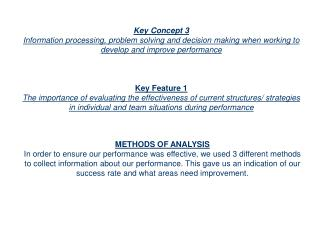 Key Concept 3
